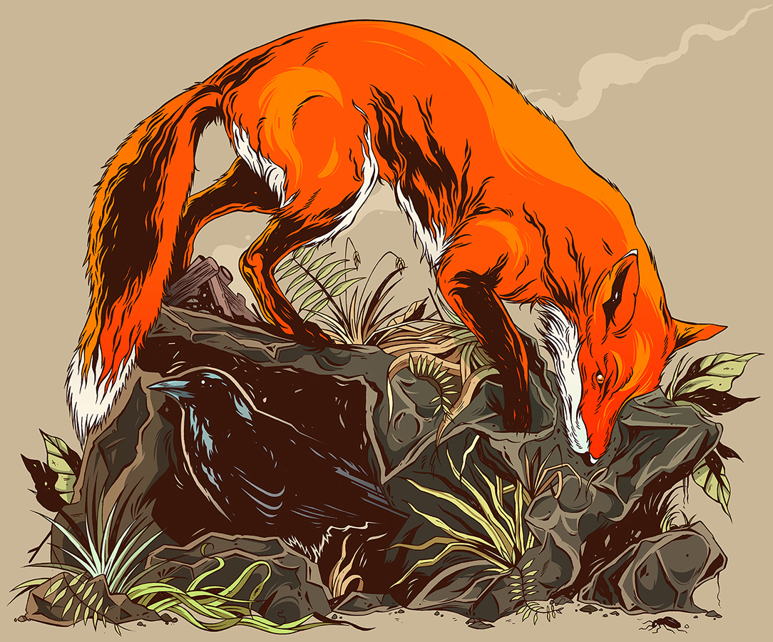 Fox and the Crow Cargo_1200
