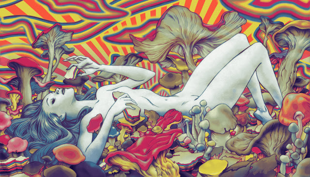 James-Jean-Psychedelic-Art-Gallery-Shrooms