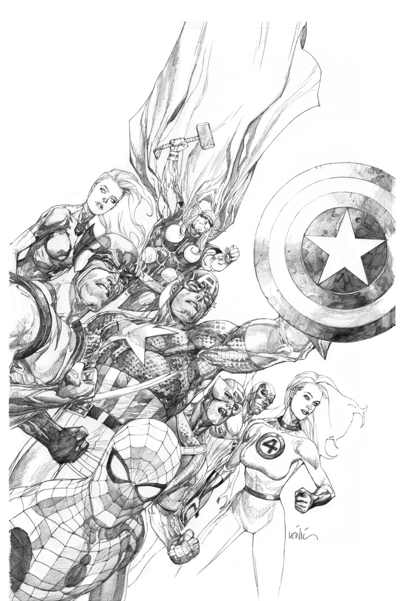 Leinil-Yu-comic-art-gallery-New-Avengers2