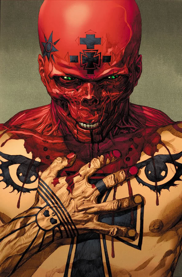 Leinil-Yu-comic-art-gallery-Ultimate-Red-Skull
