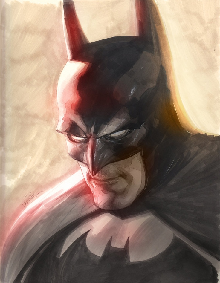 Leinil-Yu-comic-art-gallery-batman-close