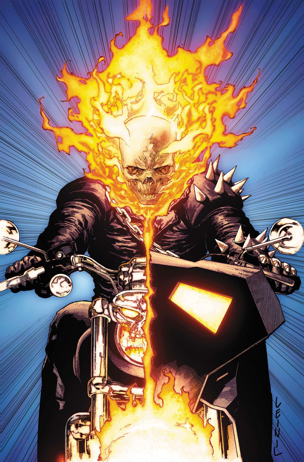 Leinil-Yu-comic-art-gallery-ghost-rider