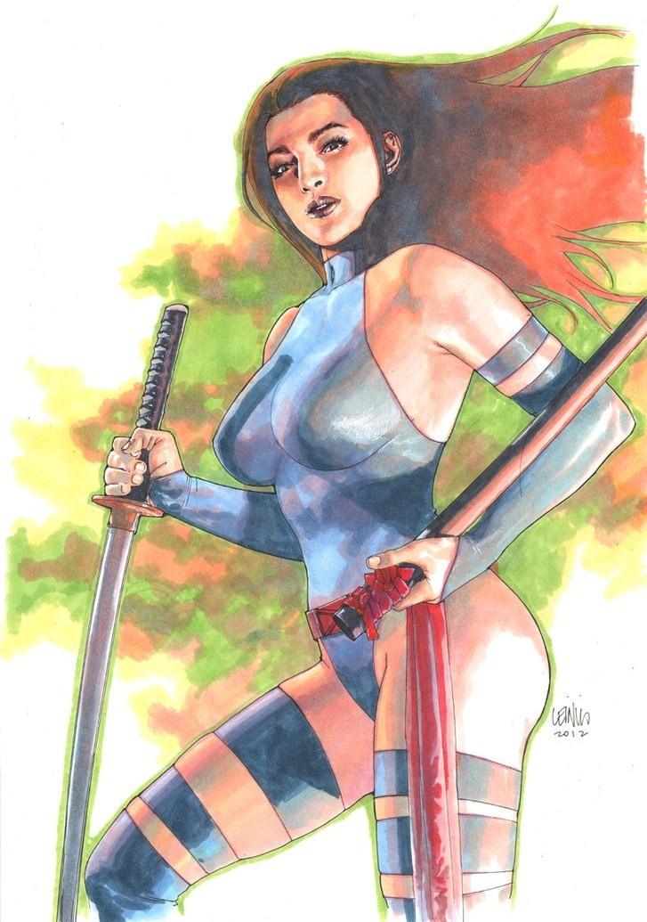 Leinil-Yu-comic-art-gallery-psylocke