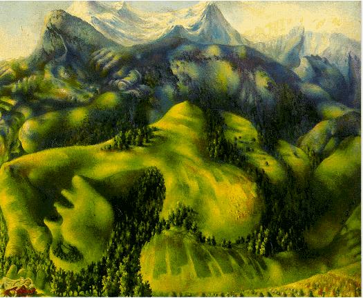 Pavel-Tchelitche-art-gallery-Fata Morgana