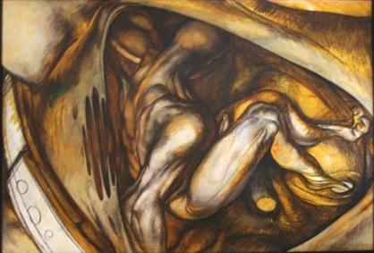 Pavel-Tchelitche-art-gallery-Naissance de l'Ange