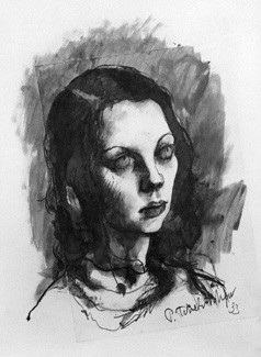 NPG 5304; Tilly Losch by Pavel Tchelitchew