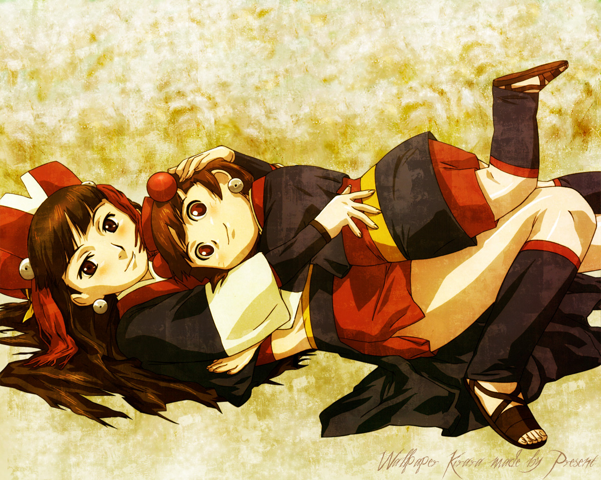Kirara and Komachi