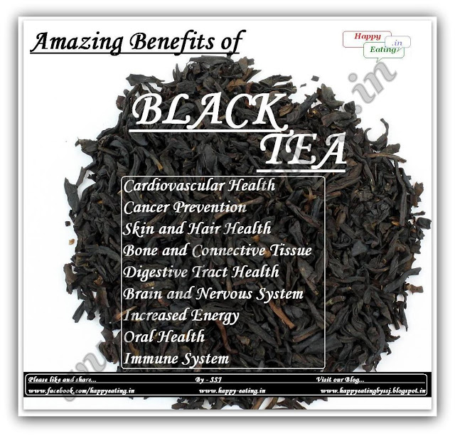 Benefits of Drinking Tea - black tea benefits