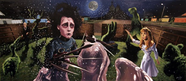 edward_scissorhands-610x266-justin-reed-movie-scene-Movie-Paintings