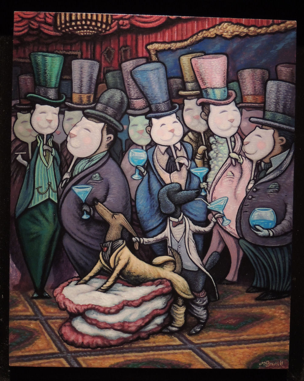nathan-spoor-jackson-finds-paris-very-much-to-his-liking-acrylic-panel-risque-2013