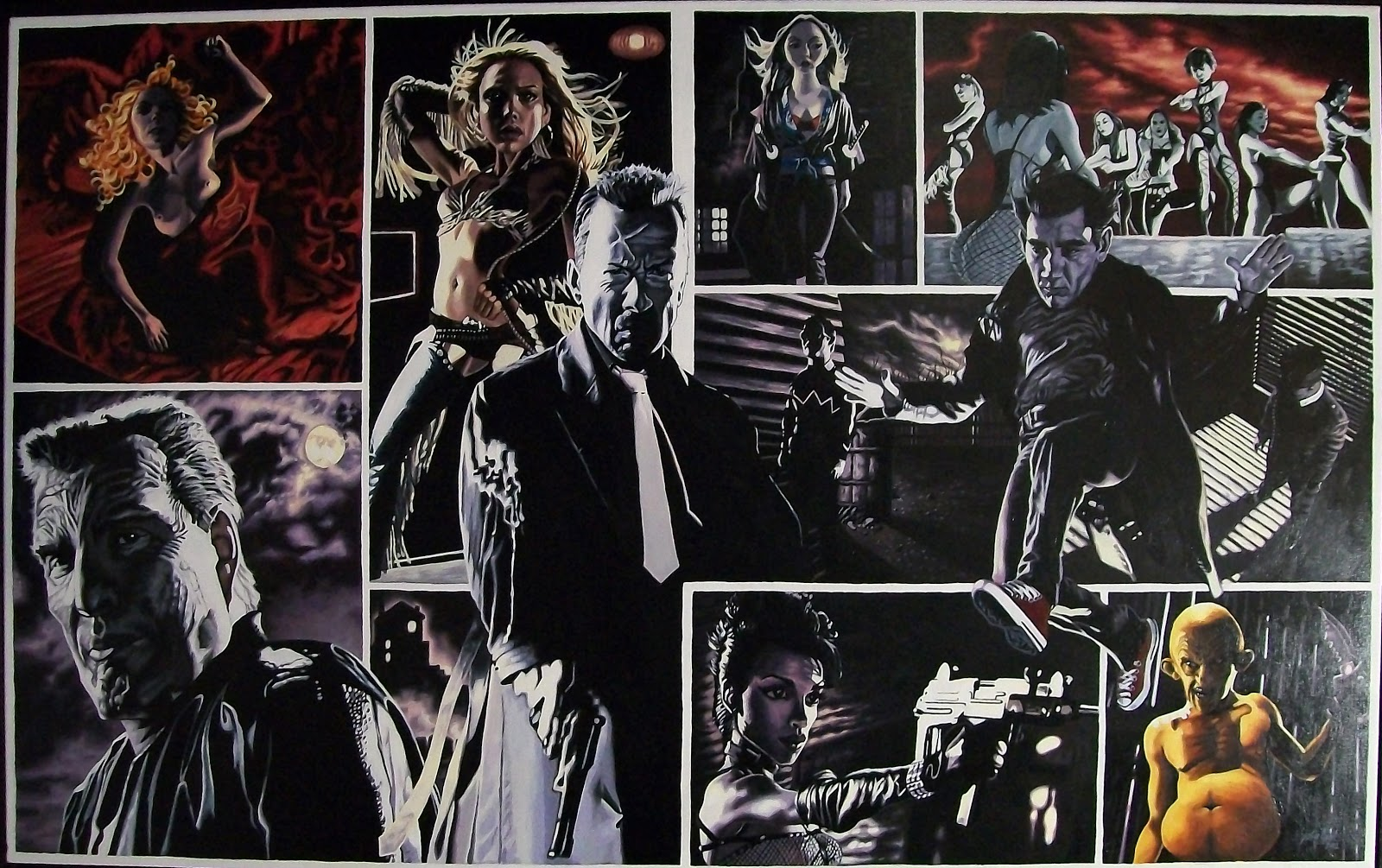 sin-city-justin-reed-movie-scene-painting