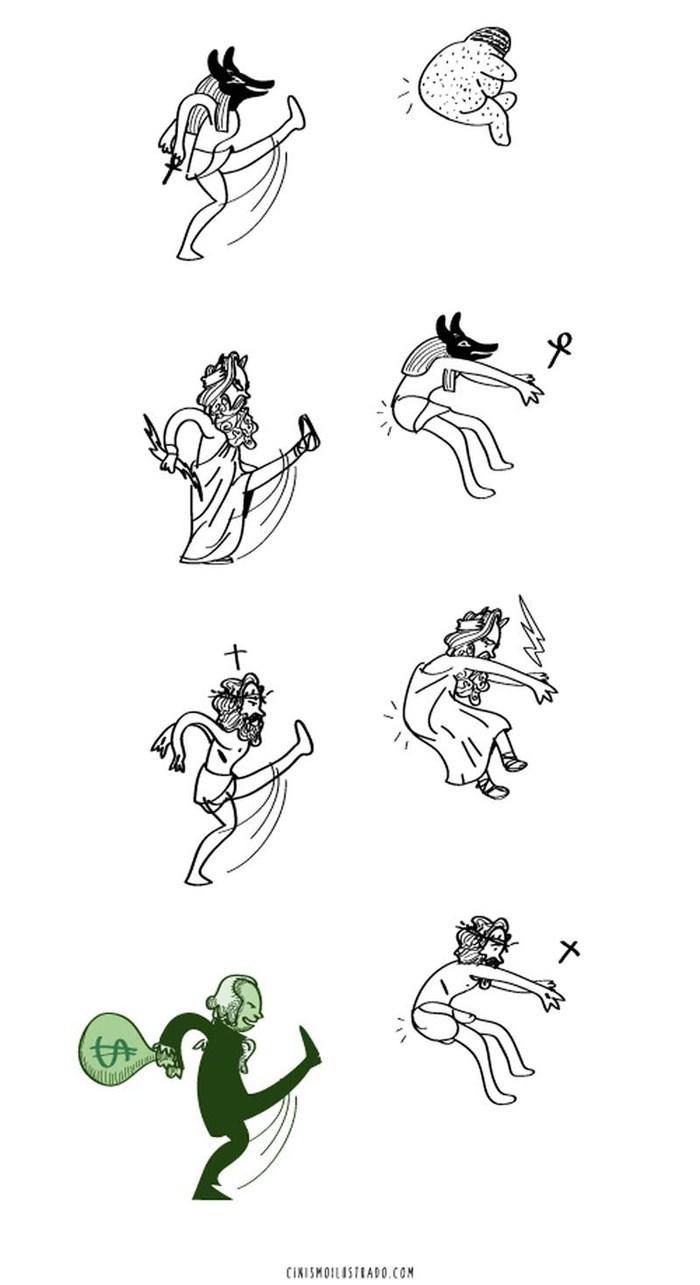 Eduardo-Salles-humor-social-commentary-gods