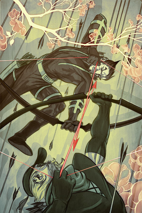 Green Arrow #58 Cover by James Jean
