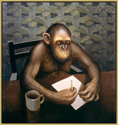 The diligent ape