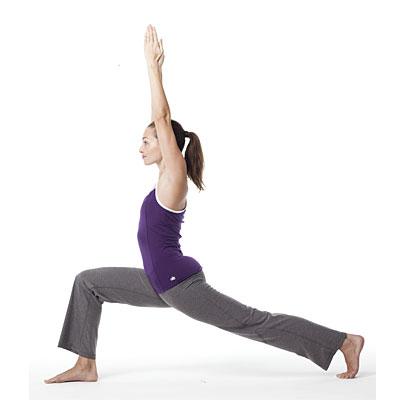 useful yoga pose - Utthita Ashwa Sanchalanasana,