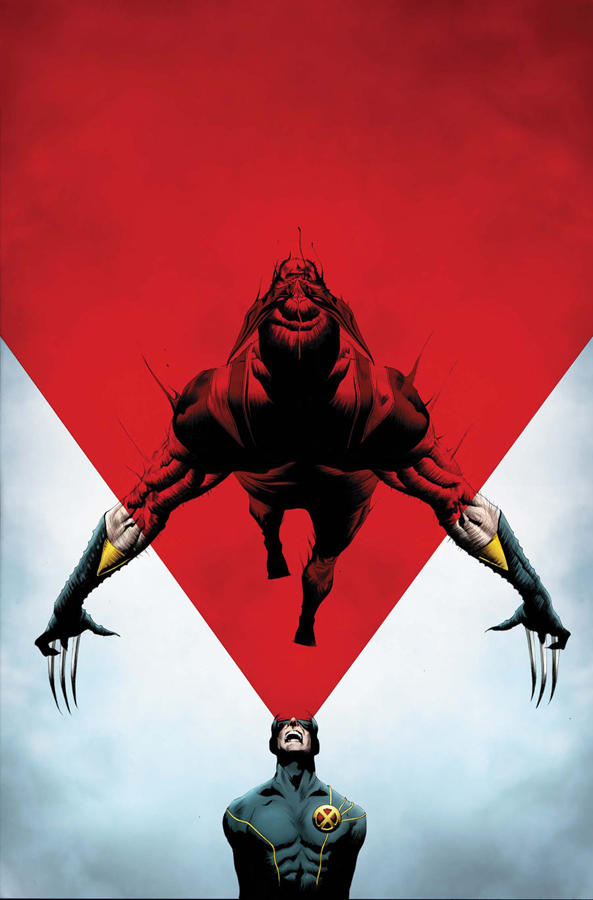 Wolverine #8 - Wolverine vs the X-Men Cover by Jae Lee
