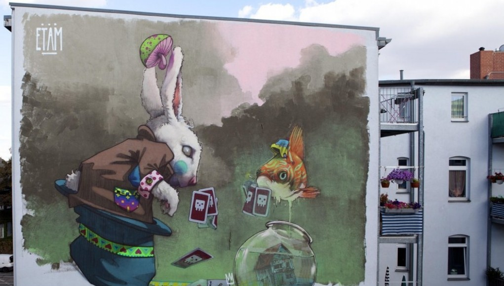 ETAM Cru Psychedelic Wall Murals, Street Art Gallery | Third Monk image 6