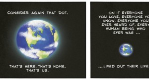 Carl Sagan - Pale Blue Dot (Comic Strip) | Third Monk image 2