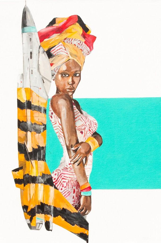 art-painting-jet-lady
