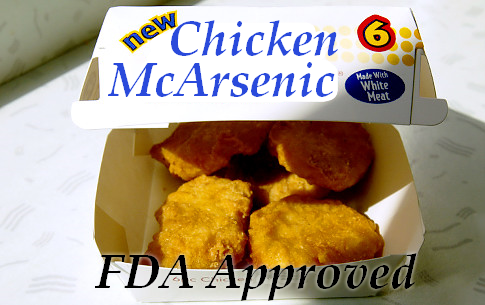 U.S. Foods Banned in Other Countries Arsenic Laced Chicken
