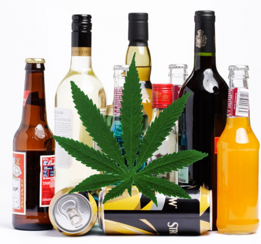 marijuana-alcohol