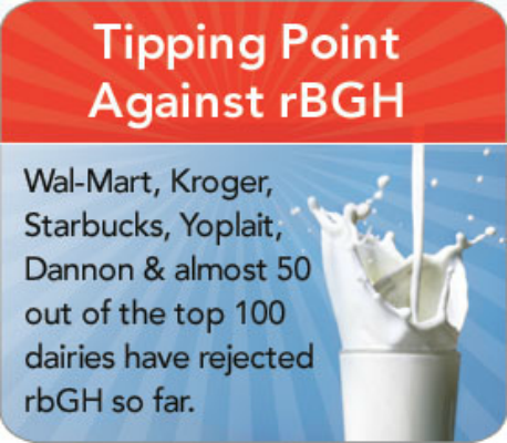 U.S. Foods Banned in other countries rBGH Dairy