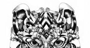 Surreal Animal Illustrations, Iain Macarthur Art Gallery | Third Monk image 6