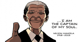 Invictus, A Tribute to Nelson Mandela (Comic Strip) | Third Monk image 2