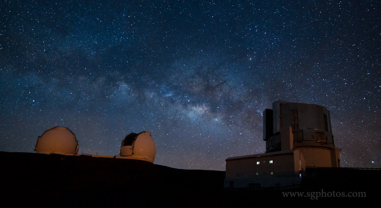 hawaii-mauna-kea-timelapse-video-Milky Way