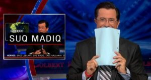 Funny Stephen Colbert Moments (Video) | Third Monk image 3