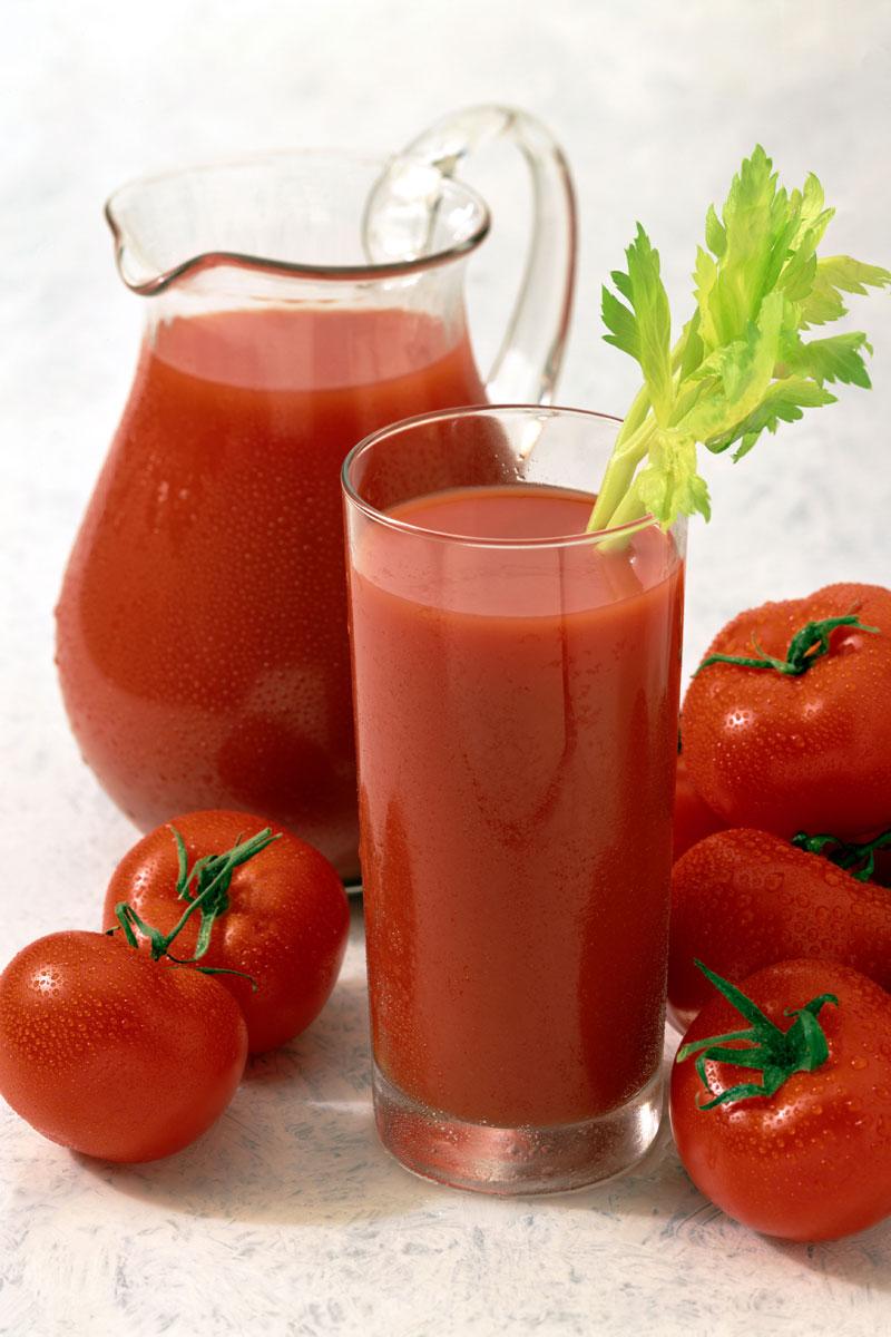 Holistic Pain Remedies - Tomato Juice