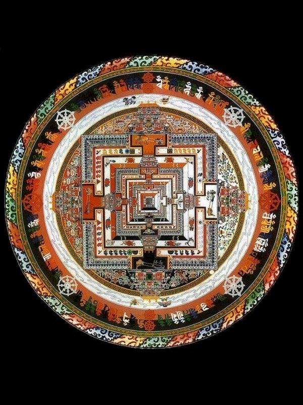 Kalachakra-Sand-Mandala