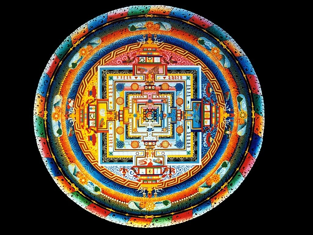 Buddhist Mandala Wallpaper