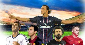 Top Soccer Players - Top Ten Goals Face Off (Video) | Third Monk