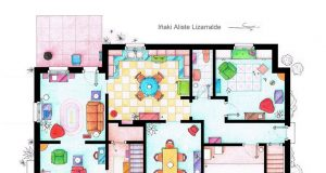 Famous Floor Plans from Television History (Gallery) | Third Monk image 10