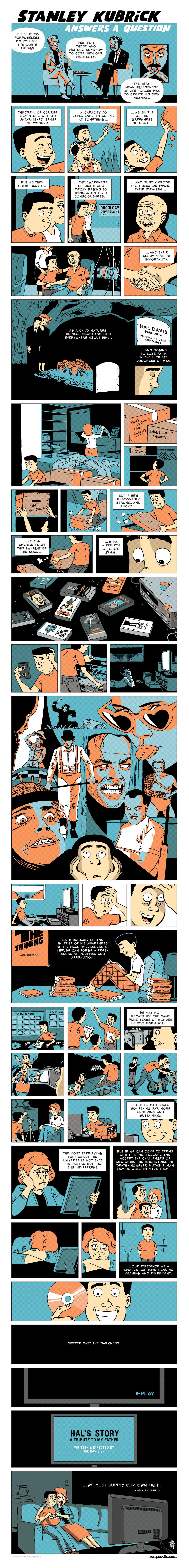 Stanley Kubrick Zenpencils