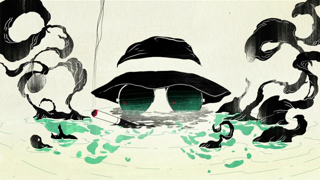Metamorphosis - Hunter S. Thompson Psychedelic Animation (Video) | Third Monk image 2