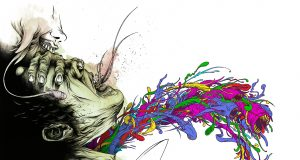 Twisting Pop Culture, Alex Pardee Art Gallery | Third Monk image 15