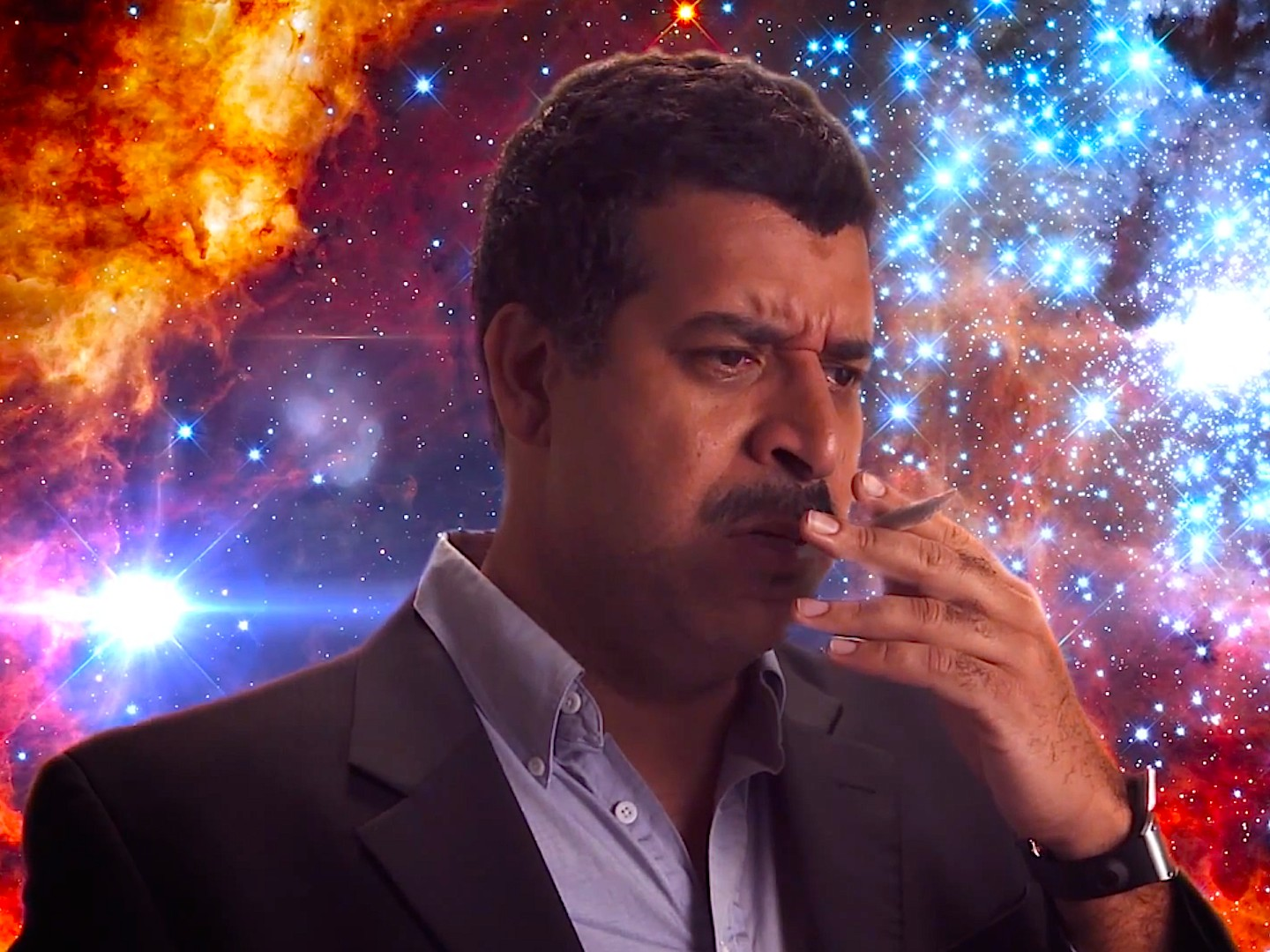 cosmos-on-weed Neil deGrasse Tyson