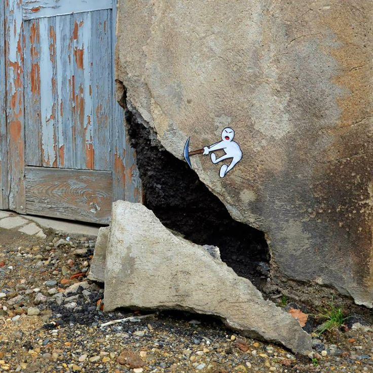 Street-Art-by-Oak oak-in-France