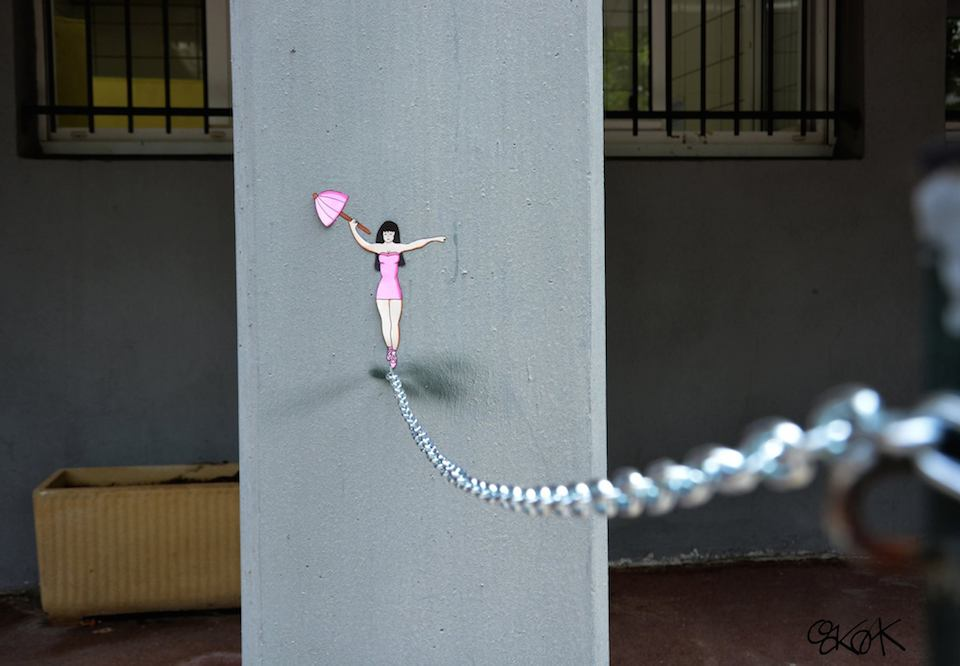 Street-Art-by-Oak oak-in-France-75474567