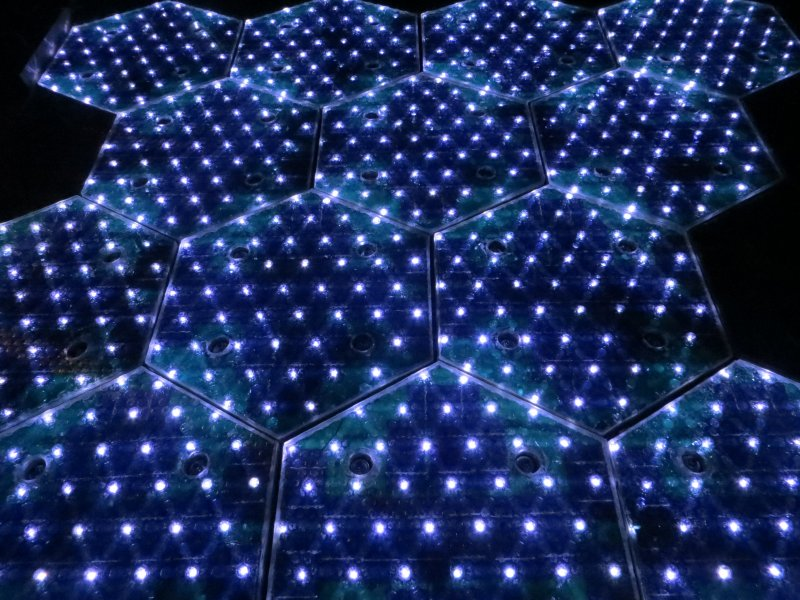 LEDs - white Solar Roadway