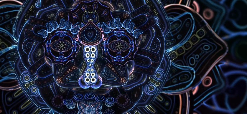 cosmicflower Psychedelic Animation