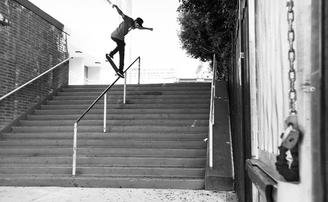 Nyjah Huston is a Beast on a Skateboard (Video) - Third Monk
