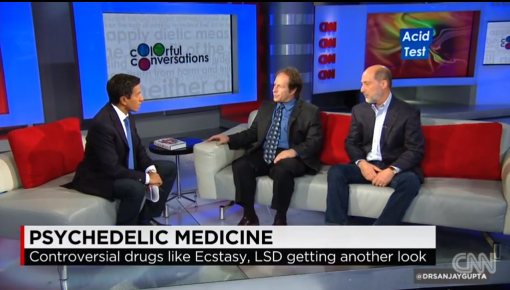 The Healing Potential of Psychedelic Medicine - Dr. Sanjay Gupta (Video) | Third Monk image 2