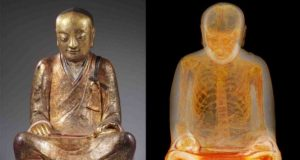 Ancient Buddha Statue is Trollin - Scientists Find Mummy Inside | Third Monk image 1