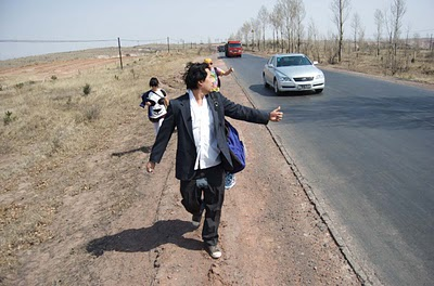Hitchhike Across America With David Choe, Vice Thumbs Up! Season 1 (Video) | Third Monk