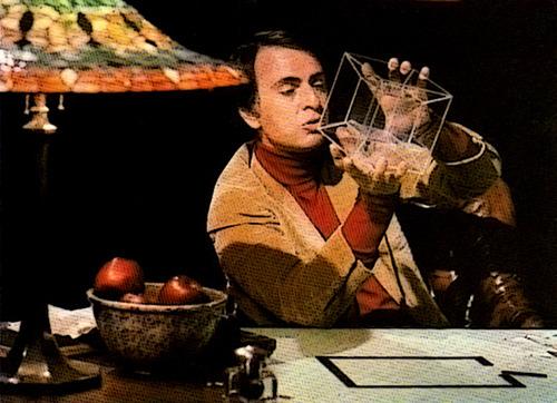 Carl Sagan Explains the 4th Dimension (Video) | Third Monk