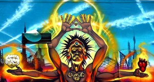 Mear One & The Gaslamp Killer - The Shaman, Street Art Stop Motion (Video) | Third Monk image 4