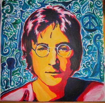 John Lennon - Watching The Wheels, Acoustic (KJ Song Rec)   Third Monk
